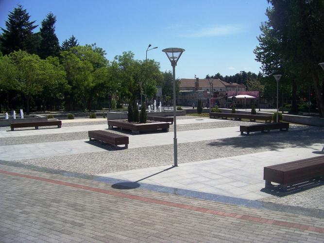 Image result for фонтаната кај музејот во Битола